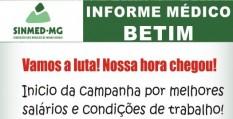 Médicos de Betim marcam primeira assembleia de 2014. Acontecerá dia 25/02, 19h30, no Sinmed-MG.