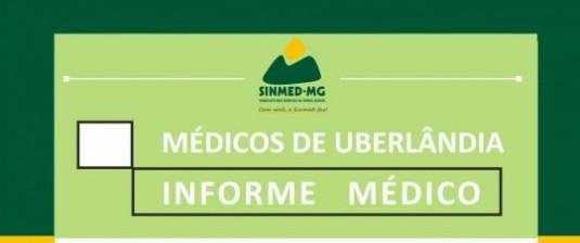 Médicos de Uberlândia: participem da assembleia geral no dia 9 de maio, 3a feira