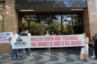 SINMED-MG PARTICIPA DE ATO PÚBLICO E PLENÁRIA DO  CONSELHO SOBRE VIOLÊNCIA NAS UNIDADES DE SAÚDE