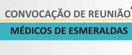 Médicos de Esmeraldas: participem da reunião com o Sinmed-MG para discutir sobre os atrasos de vencimentos