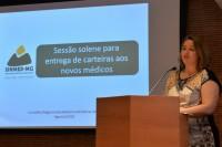 Entrega de carteiras aos novos médicos: mais uma solenidade conta com a participação do Sinmed-MG