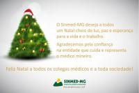 Natal 2017: Sinmed-MG deseja paz, esperança para a vida e o trabalho