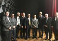 """Sindicato prestigia cerimônia de lançamento da coleção """"Cícero Ferreira – Um apóstolo da Medicina""""."""
