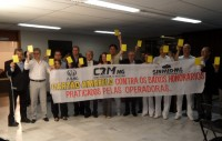 Sinmed-MG participa de movimento de Advertência aos Planos de Saúde e crítica pouco envolvimento da ANS