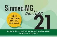 SINMED ON-LINE - 21ª EDIÇÃO - MAIO 2018