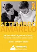 Sinmed-MG no Setembro Amarelo: mês de prevenção ao suicídio