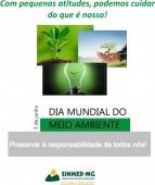 5 de junho: Dia Mundial do Meio Ambiente, Cuidar dele é nossa responsabilidade