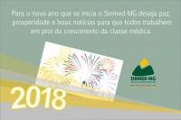 Um novo ano se aproxima: Sinmed-MG deseja a todos paz, saúde e boas notícias para a categoria médica