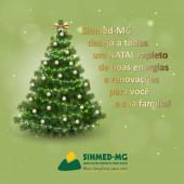 Mensagem do Sinmed-MG de agradecimento pela parceria e participação junto ao sindicato em 2018