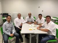 Diretores do Sinmed-MG reúnem-se com membros da Sociedade Mineira de Clínica Médica
