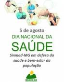 5 de agosto: Dia Nacional da Saúde