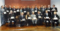 """Sindicato participa das """"Homenagens às personalidades médicas"""" e """"Médicos Personalidades Médicas"""" e """"Médicos em Destaque"""", na AMMG"""