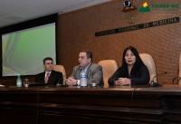Sinmed-MG na solenidade de entrega aos novos médicos, no dia 18 de junho