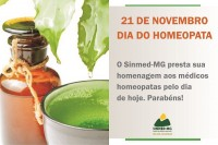 21 de novembro - Dia do Homeopata