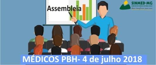 PBH:Assembleia geral vai discutir propostas da PBH sobre o Plano de Carreira e pontos pendentes na pauta