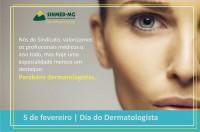 Parabéns pelo dia do dermatologista!