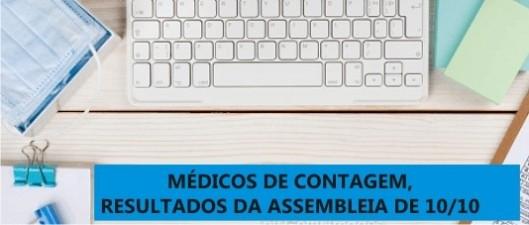 Médicos de Contagem reivindicam pagamento retroativo de adicionais