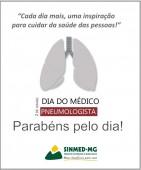 2 de junho: Dia do Médico Pneumologista. Sinmed-MG homenageia todos estes especialistas