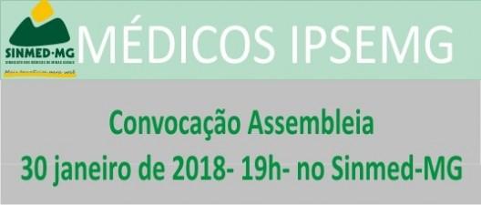 Médicos do Ipsemg começam 2018 com movimento reivindicatório