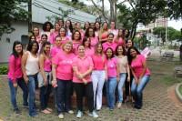 """Diretora do Sinmed-MG, Andréa Donato, realiza palestra em ação do """"Outubro Rosa"""", no Conselho Regional de Educação Física"""