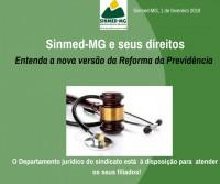 Sinmed-MG e seus direitos: entenda a nova versão da reforma da previdência