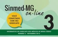 SINMED ON-LINE - 3ª EDIÇÃO - NOVEMBRO 2016