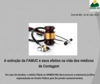 Sinmed-MG e seus direitos: A extinção da FAMUC e seus efeitos na vida dos médicos de Contagem