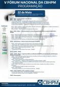AMMG sedia quinta edição do Fórum CBHPM