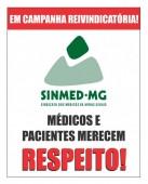 Ato Público dos médicos da PBH: categoria protesta em frente à SMS, na próxima 5a feira, 6/6, 14h