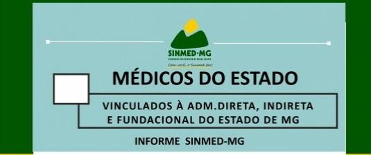 Atenção: assembleia geral dos médicos vinculados à administração direta, indireta e fundacional do Estado de Minas Gerais
