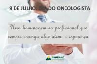 9 de julho: Dia do Oncologista. O Sinmed-MG lembra de mais uma especialidade! Parabéns