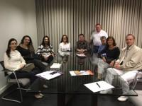 Sinmed-MG visita diretoria da Associação Mineira de Medicina do Trabalho (AMIMT)
