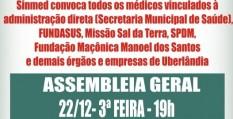 AGE dos médicos de Uberlândia - médicos ligados à administração, Fundasus, Missão Sal da Terra, SPDM