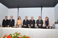 Presidente do Sinmed-MG, Amélia Pessôa, prestigia posse da nova diretoria da SAMG, biênio 2016/2017