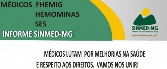 Atenção médicos da SES, Hemominas e FHEMIG: temos assembleia geral no dia 17 de abril, no sindicato. Esperamos vocês