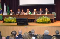 Sinmed-MG presente na cerimônia do aniversário de 46 anos da Academia Mineira de Medicina