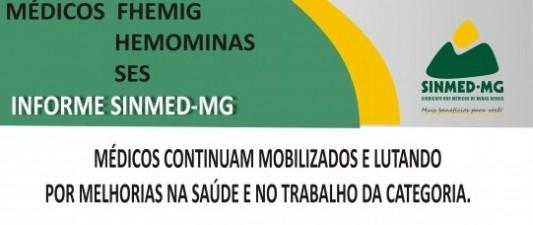 Nova assembleia geral dos médicos da FHEMIG, SES e Hemominas - dia 27 de fevereiro