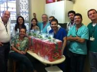 Sinmed-MG não esqueceu dos médicos na noite de Natal em 2012