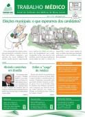Confira a edição agosto/setembro do Trabalho Médico; informativo do Sinmed-MG