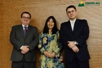 Sinmed-MG na solenidade de entrega de carteiras aos novos médicos de setembro 2018