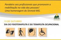 13 de Outubro - Dia do Fisioterapeuta e do Terapeuta Ocupacional