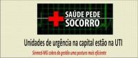 Unidades de urgência na capital estão na UTI