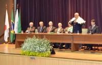 Sinmed-MG marca presença na solenidade de posse  da nova diretoria da Academia Mineira de Medicina