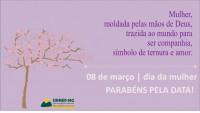 8 DE MARÇO: DIA INTERNACIONAL DA MULHER! Receba o carinho do Sinmed-MG