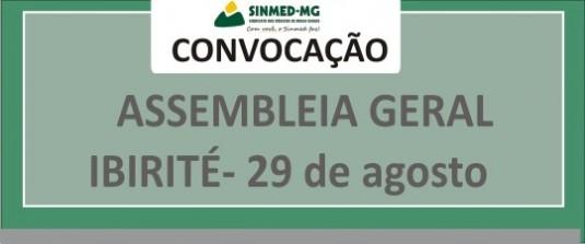 Médicos de Ibirité: assembleia geral marcada para 29 de agosto
