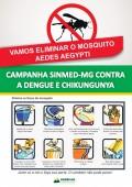 Novembro é o mês da Campanha Sinmed-MG de combate ao aedes aegyti