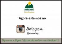 Sinmed-MG agora também no Instagram